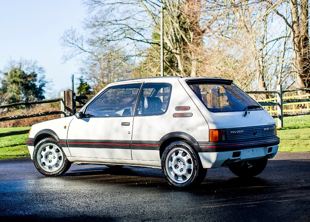 1998 Peugeot 205 GTi 1.9 SOLD by Auction (picture 1 of 6)