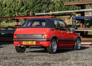 1989 Peugeot 205 CTi (1.9 Litre) SOLD by Auction