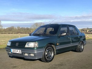 1992 Peugeot 309 GTI Goodwood Limited Edition SOLD