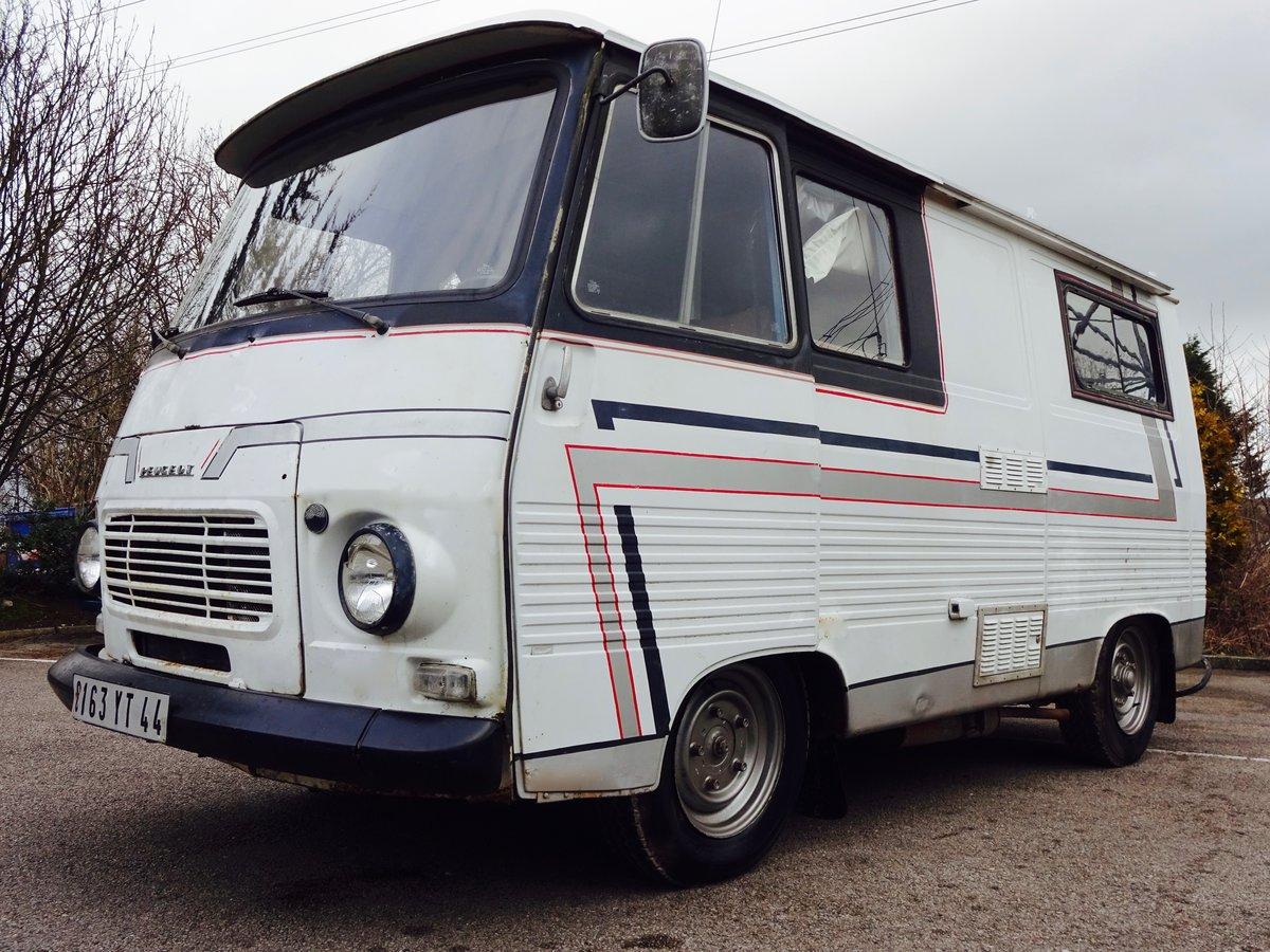1980 peugeot j7 campervan for sale car and classic. Black Bedroom Furniture Sets. Home Design Ideas