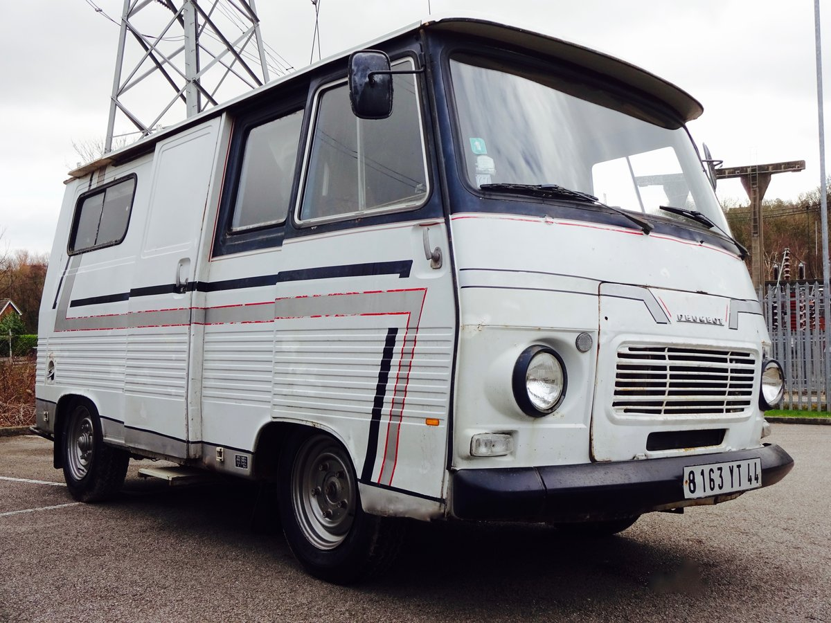 1980 Peugeot j7 campervan For Sale (picture 4 of 6)