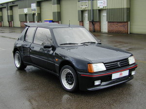 1990 PEUGEOT 205 1.9 DIMMA LHD AIR CON - COLLECTOR QUALITY! For Sale