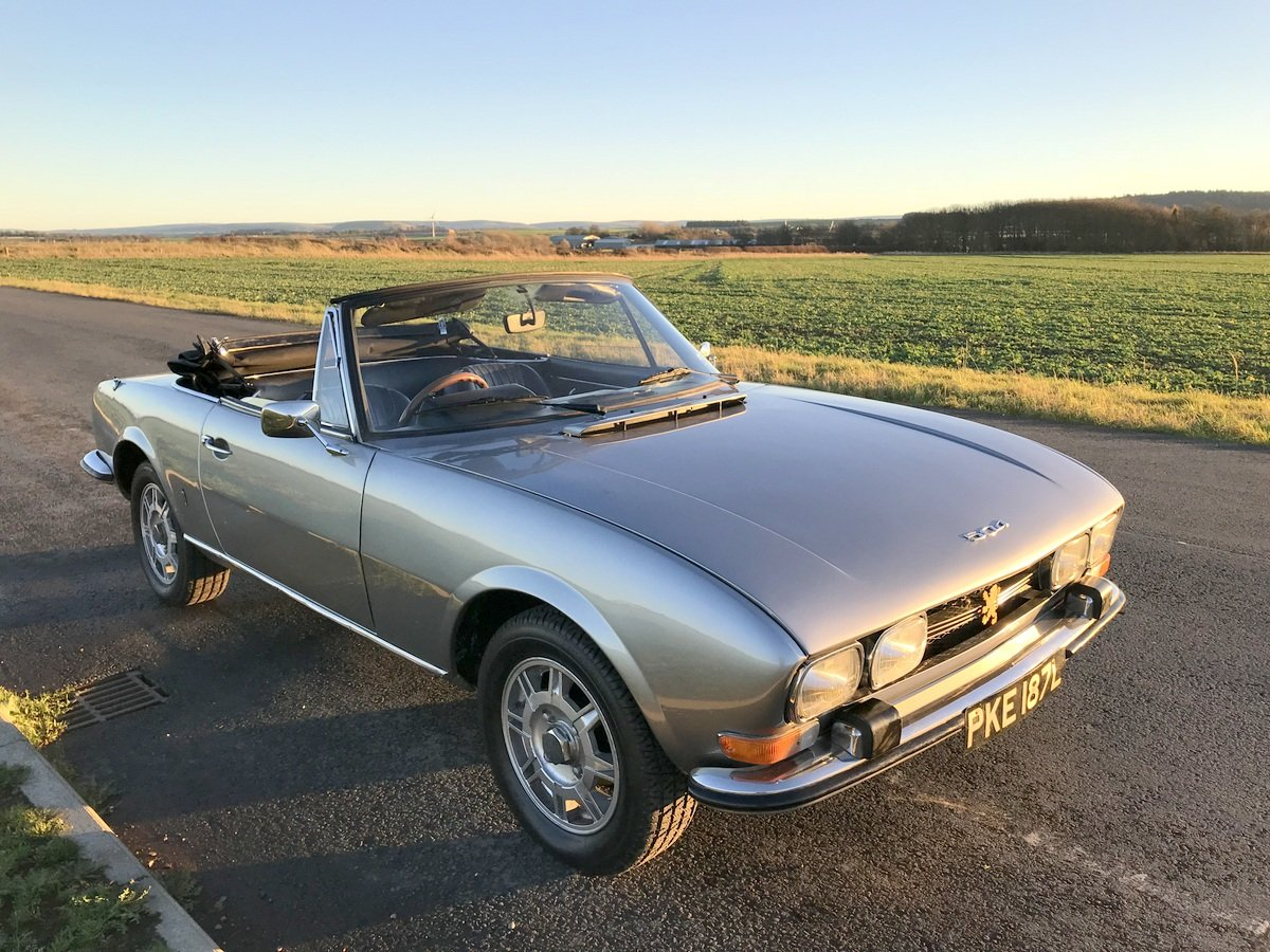 1973 Peugeot 504 Cabriolet For Sale (picture 1 of 6)