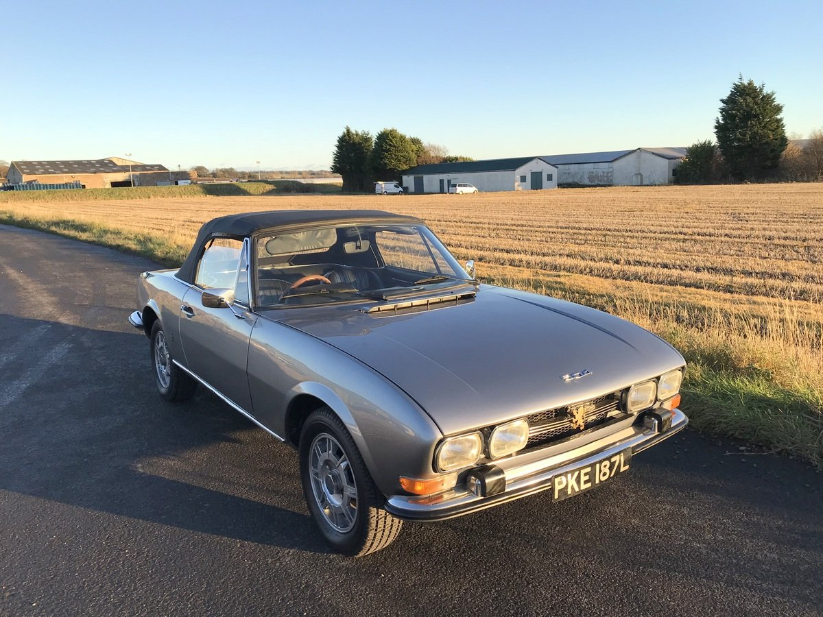 1973 Peugeot 504 Cabriolet SOLD (picture 4 of 6)