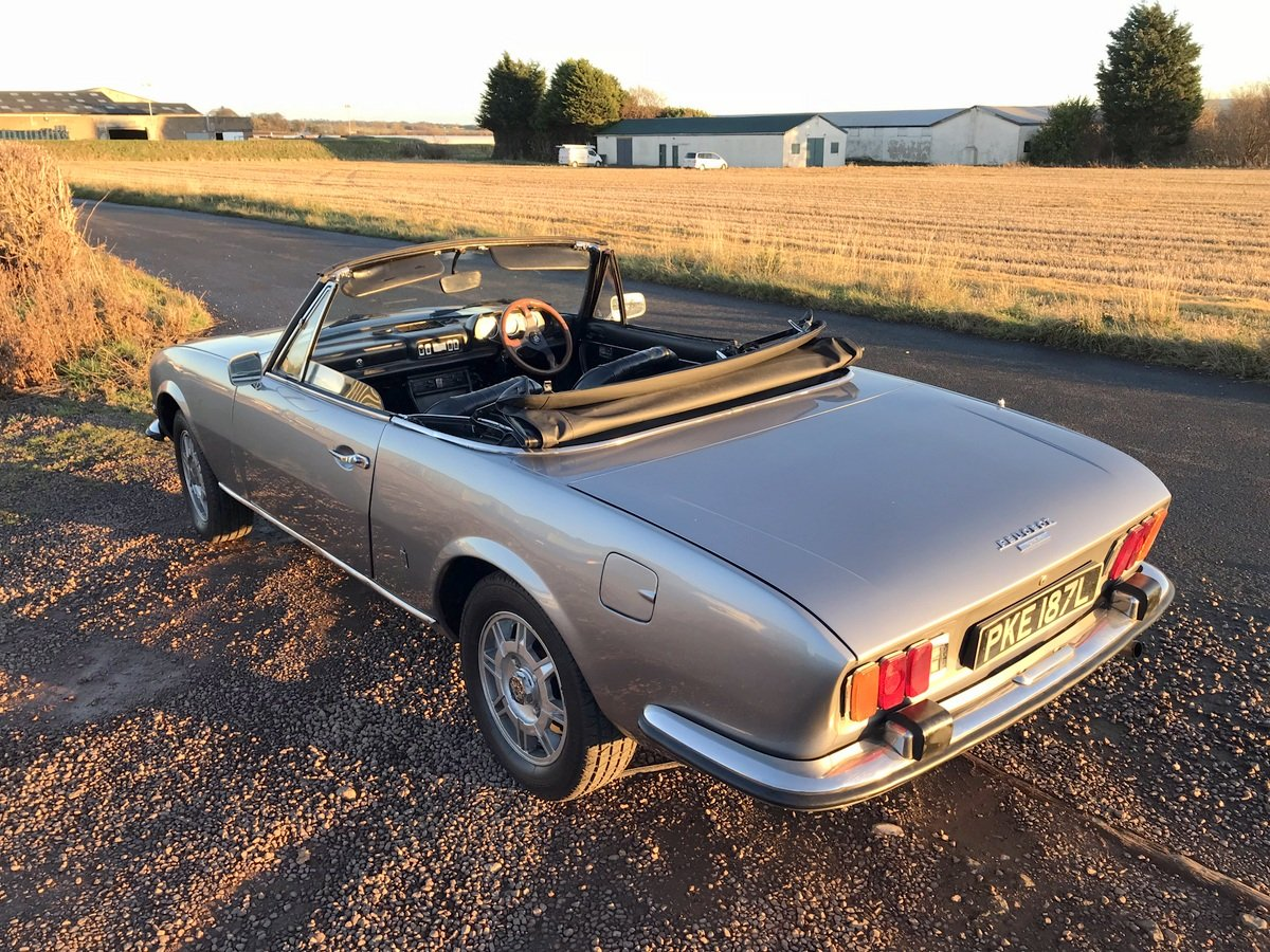 1973 Peugeot 504 Cabriolet SOLD (picture 6 of 6)