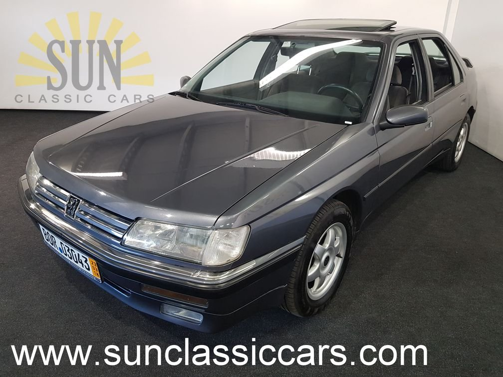 Peugeot 605 SR 3.0 1990, very rare For Sale (picture 1 of 6)