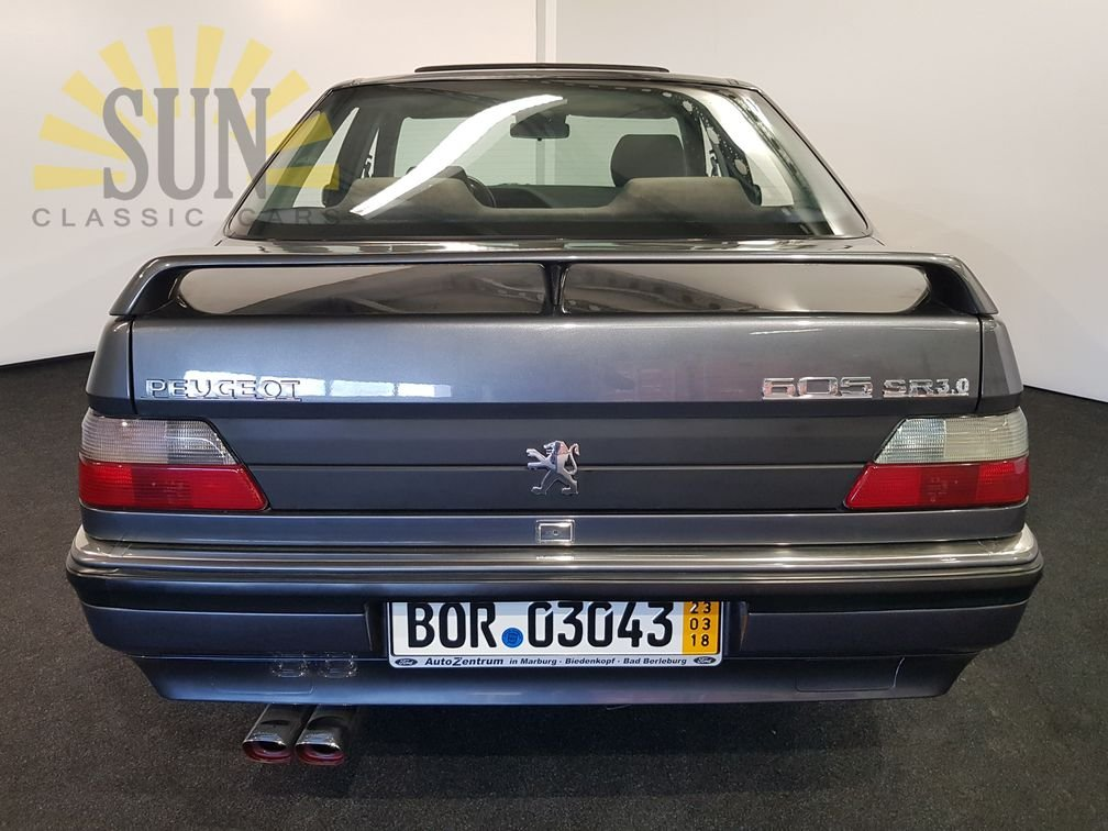 Peugeot 605 SR 3.0 1990, very rare For Sale (picture 4 of 6)