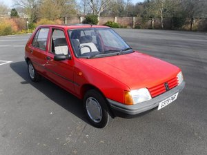 **REMAINS AVAILABLE**1989 Peugeot 205 GRD SOLD by Auction