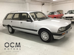 1988 Peugeot 505 GTI Estate SOLD