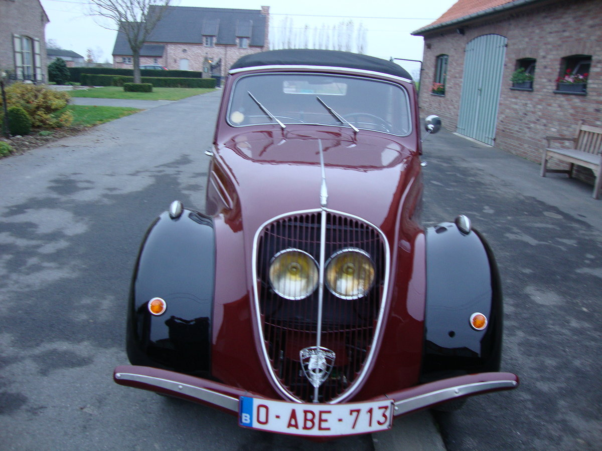 1939 PEUGEOT 202 DECOUVRABLE For Sale (picture 1 of 6)