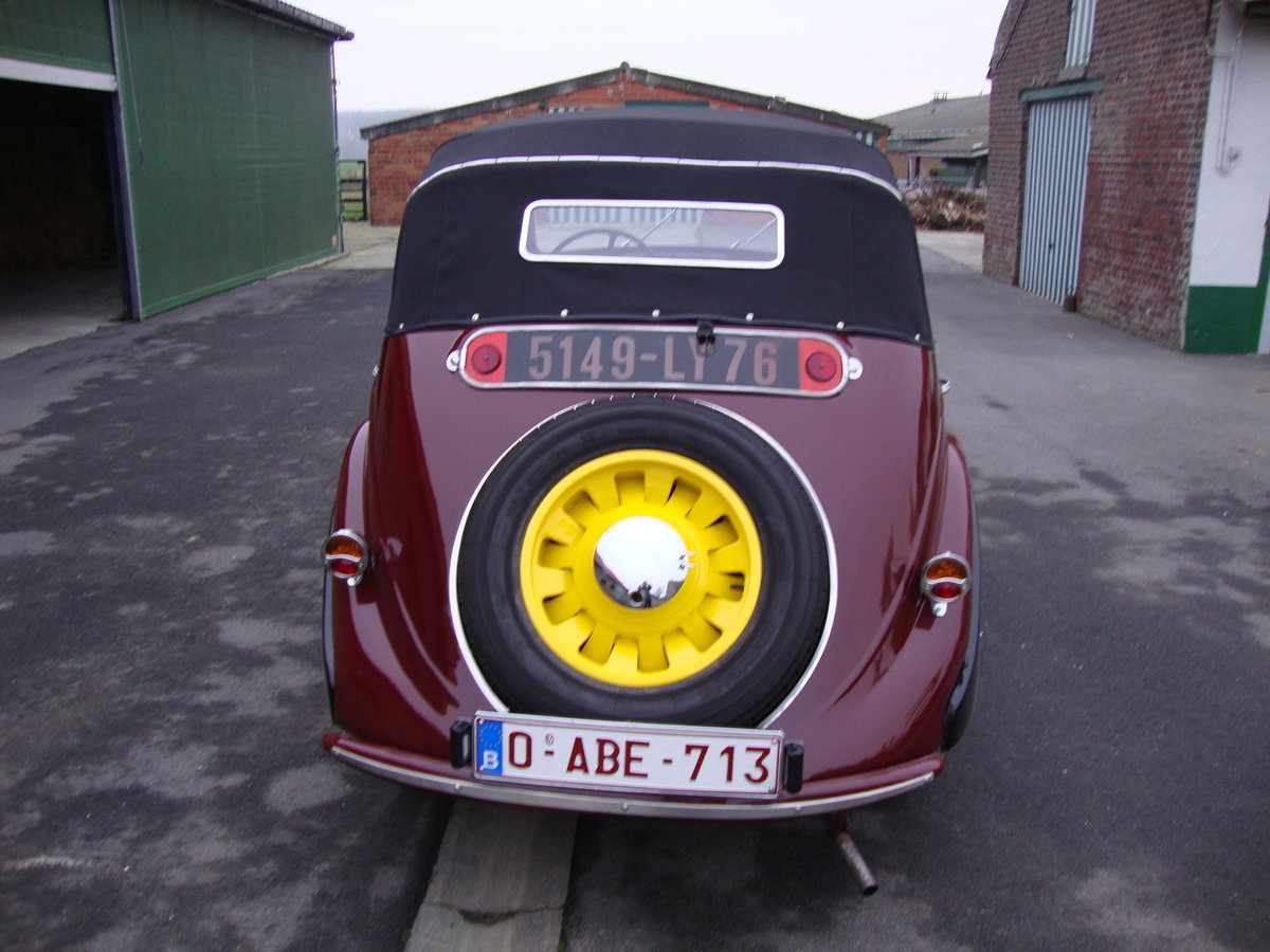 1939 PEUGEOT 202 DECOUVRABLE For Sale (picture 2 of 6)