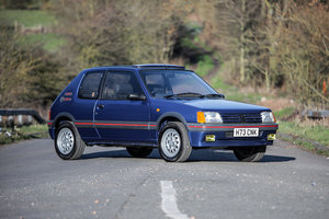 1990 Peugeot 205 GTi 1.6  For Sale by Auction