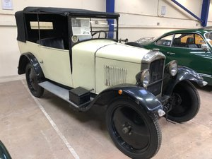 A 1928 Peugeot 109S - 10/04/2019 For Sale by Auction