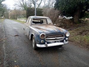 1960 Classic Original French Peugeot 403 Saloon Car LHD