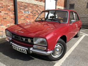 1977 Peugeot 504 GLD (2.3 Diesel) LOW MILEAGE For Sale by Auction