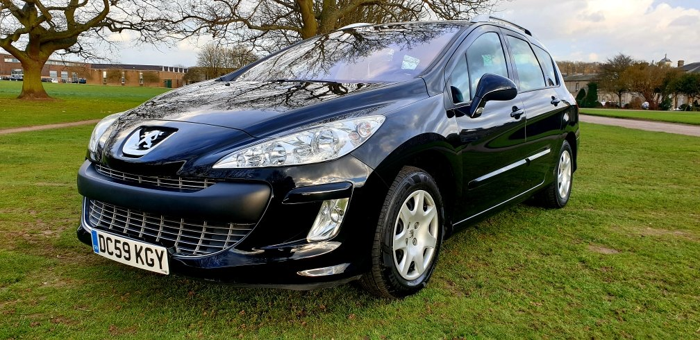 2009 LHD PEUGEOT 308 SW 1.6 HDI,7 SEATER,LEFT HAND DRIVE For Sale (picture 2 of 6)