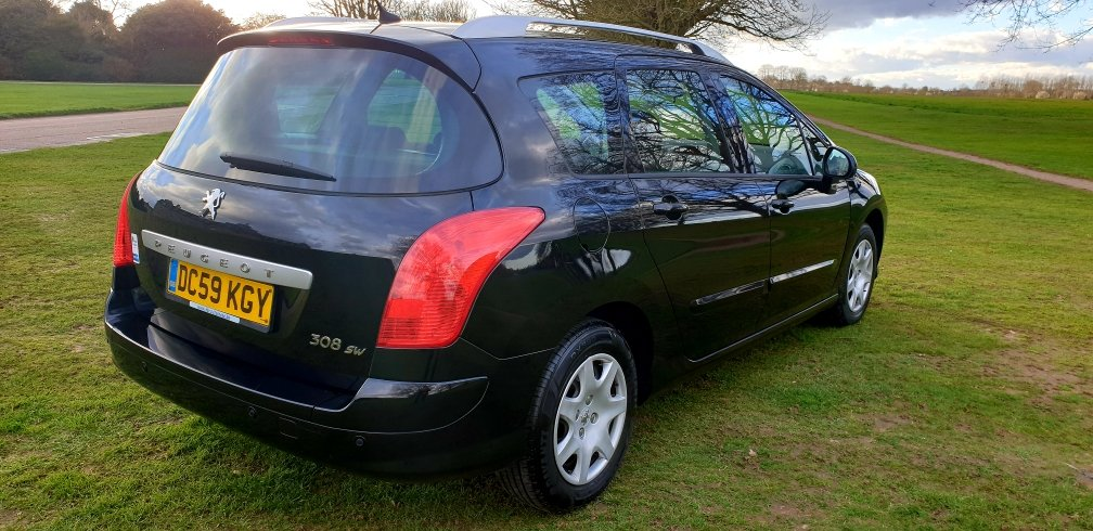 2009 LHD PEUGEOT 308 SW 1.6 HDI,7 SEATER,LEFT HAND DRIVE For Sale (picture 3 of 6)