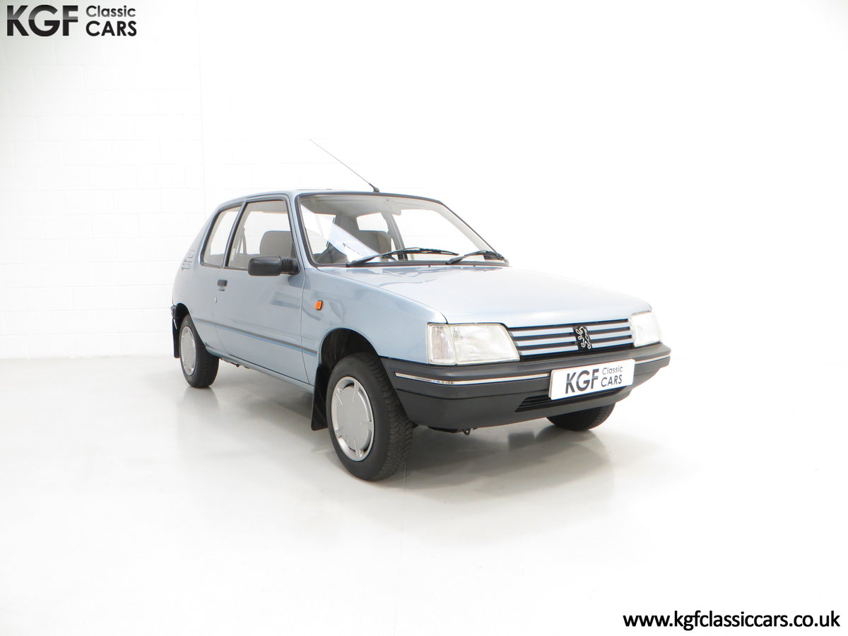 1990 A Superb Peugeot 205 Look with 25,802 Miles For Sale (picture 1 of 6)