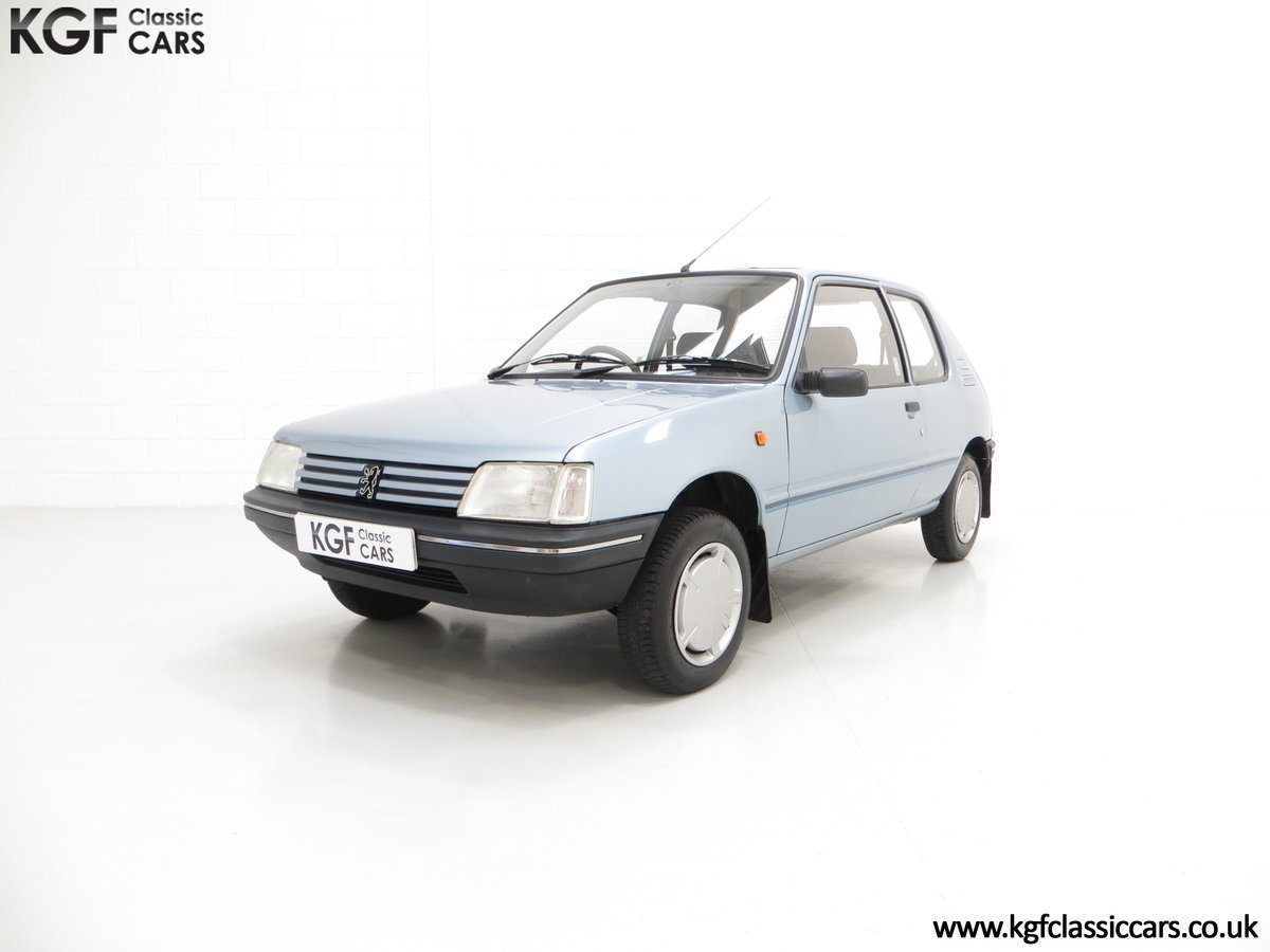 1990 A Superb Peugeot 205 Look with 25,802 Miles For Sale (picture 2 of 6)