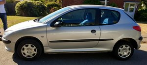 2001 PEUGEOT 206 LEFT HAND DRIVE ideal for European use For Sale