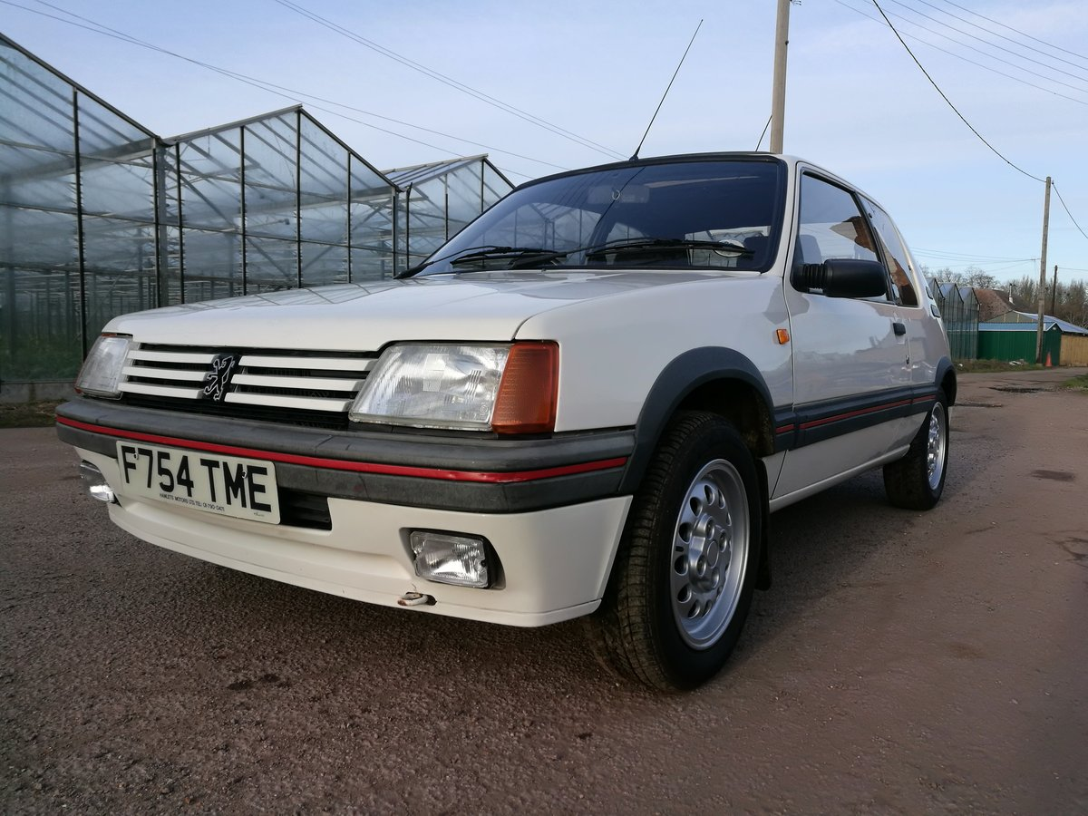 1989 Peugeot 1600 205GTi For Sale (picture 1 of 6)