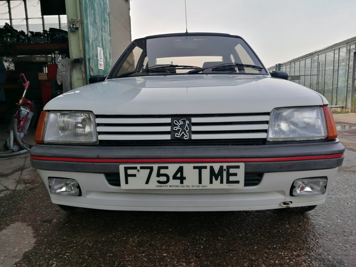 1989 Peugeot 1600 205GTi For Sale (picture 4 of 6)