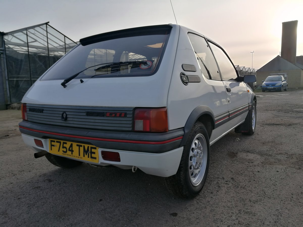 1989 Peugeot 1600 205GTi For Sale (picture 5 of 6)