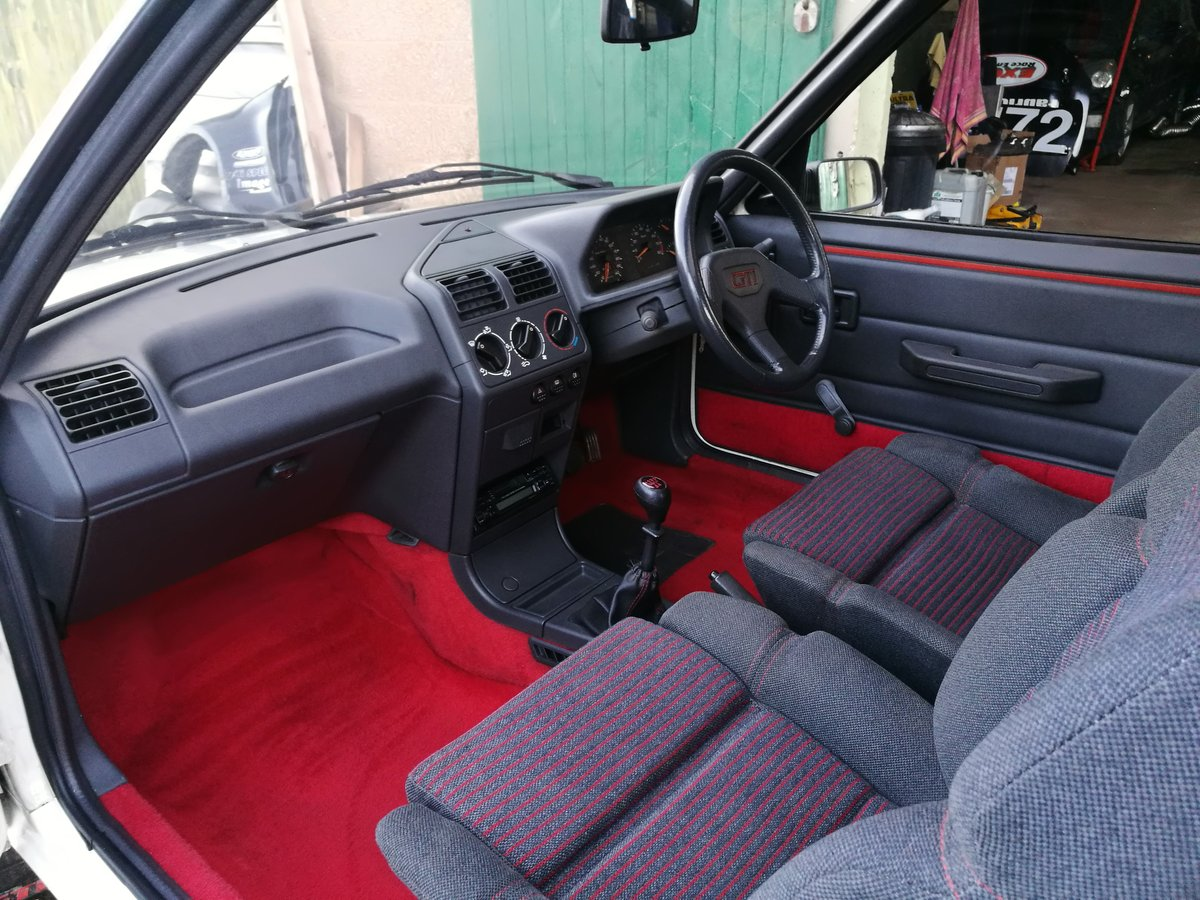 1989 Peugeot 1600 205GTi For Sale (picture 6 of 6)