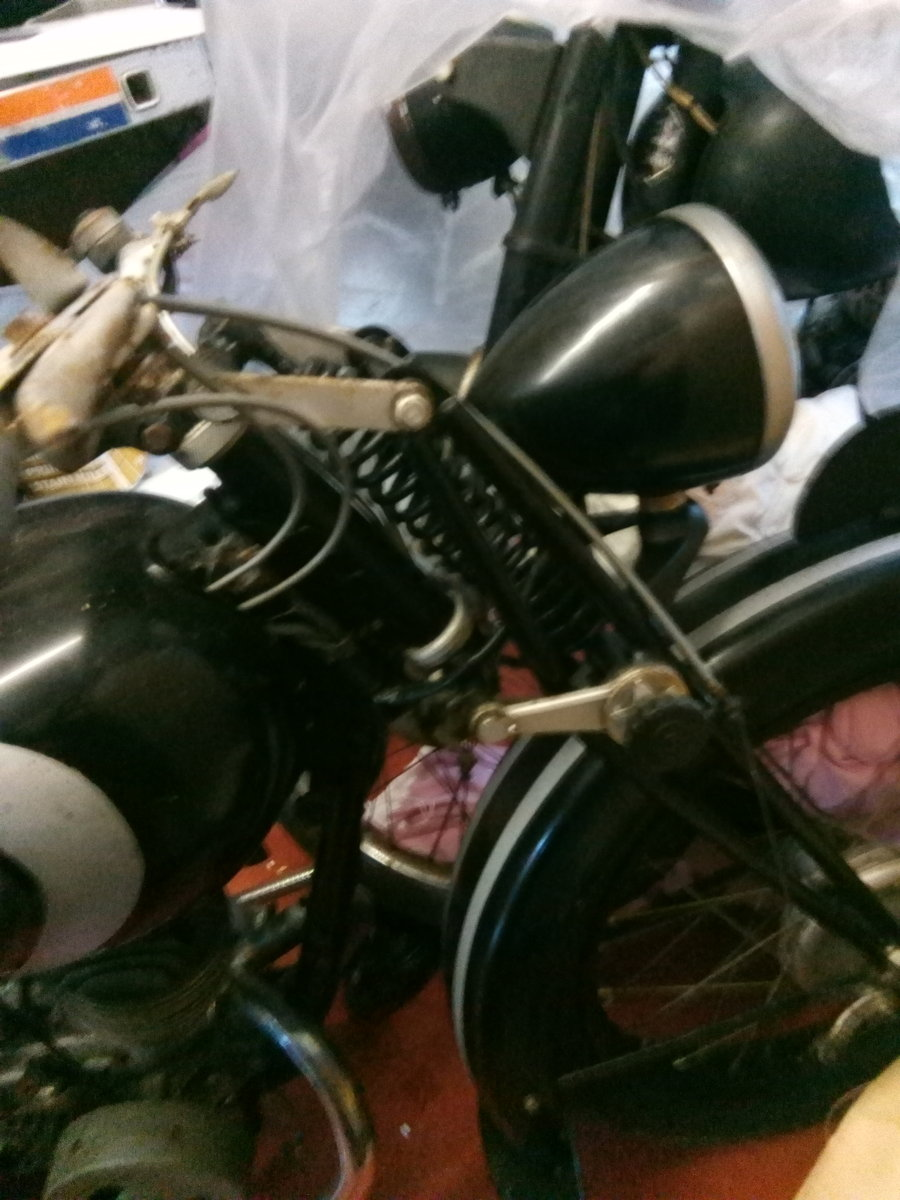 1955 Barn find Peugeot griffon 1949, 125cc, type 555 For Sale (picture 2 of 6)