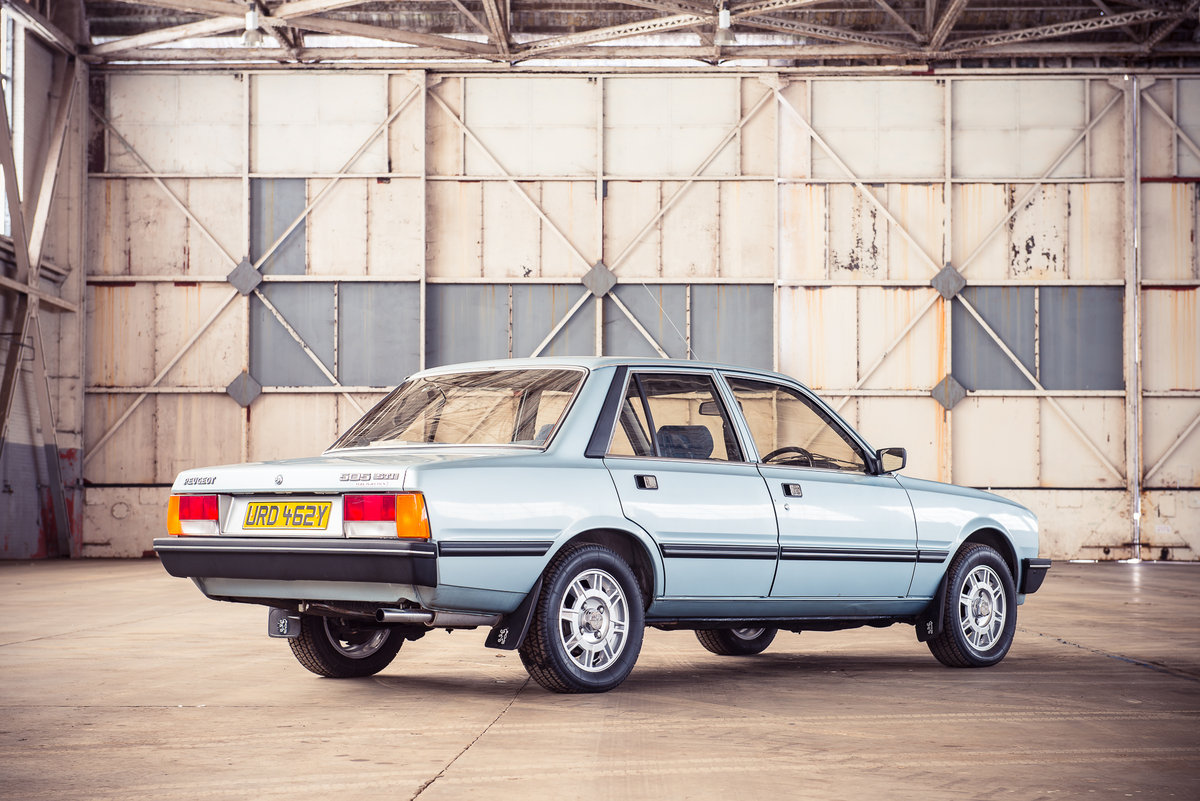1983 Peugeot 505 STI:  7,900 miles For Sale (picture 3 of 6)