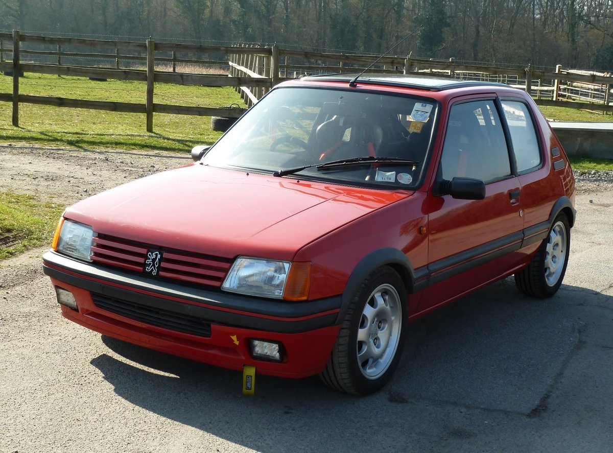 1989 PEUGEOT 205 GTI 1.9 with amazing specification For Sale (picture 1 of 6)