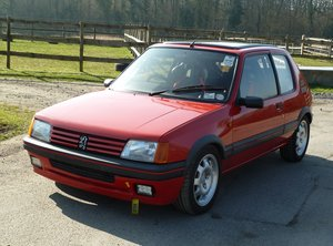 1989 PEUGEOT 205 GTI 1.9 with amazing specification