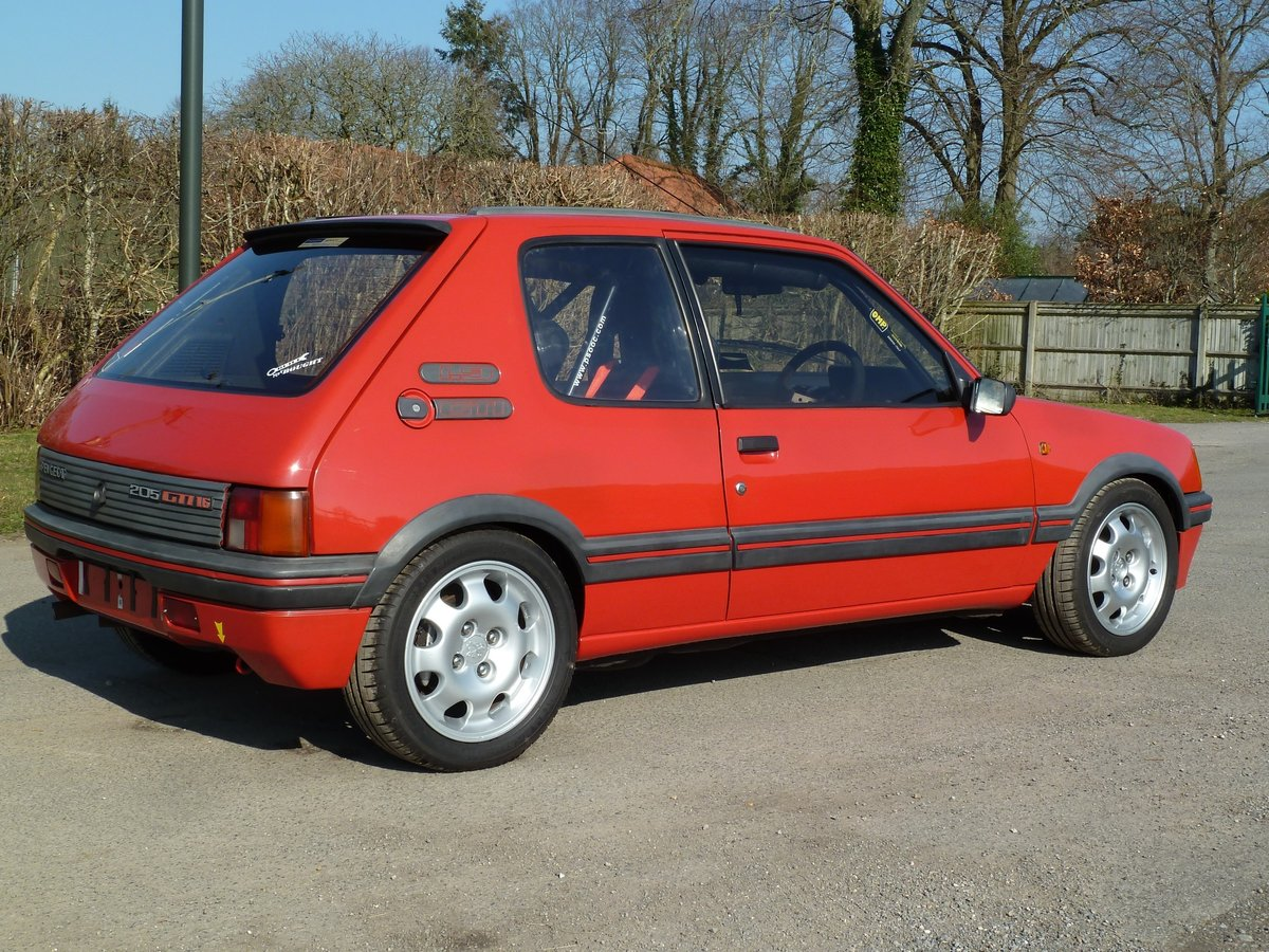1989 PEUGEOT 205 GTI 1.9 with amazing specification For Sale (picture 2 of 6)