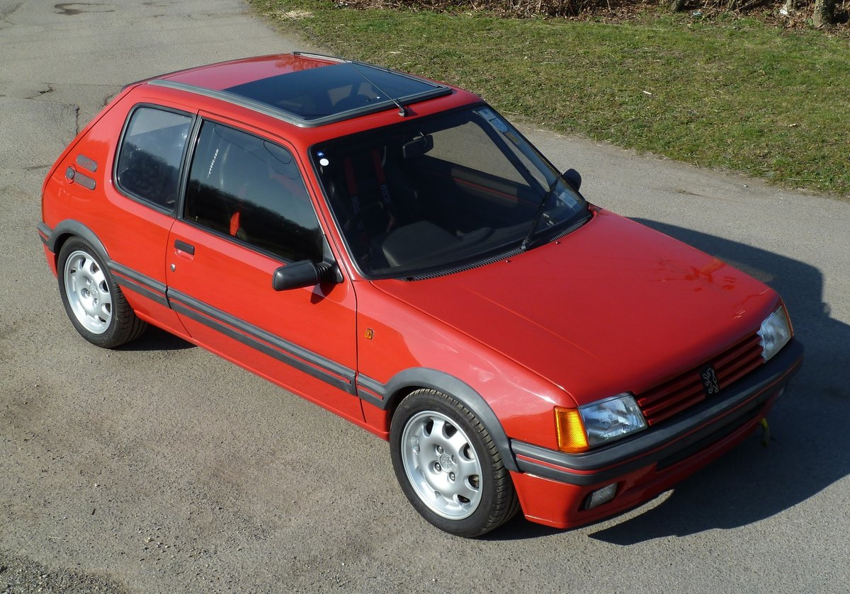 1989 PEUGEOT 205 GTI 1.9 with amazing specification For Sale (picture 3 of 6)