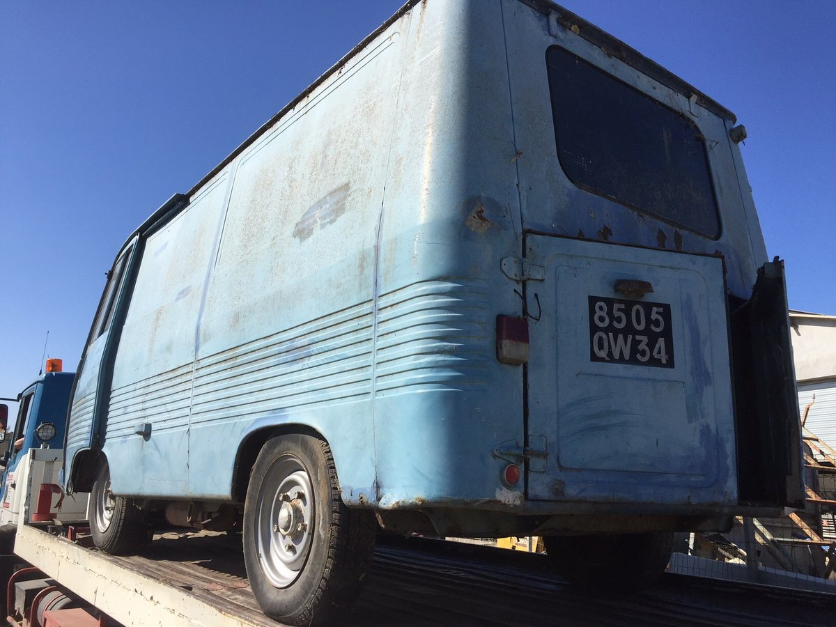 1975 peugeot J7, petrol, runner, ideal food truck For Sale (picture 4 of 5)