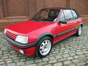 1995 PEUGEOT 205 CTI MODERN CLASSIC 1.9 CONVERTIBLE RARE  For Sale