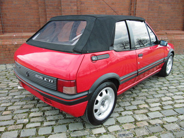 1995 PEUGEOT 205 CTI MODERN CLASSIC 1.9 CONVERTIBLE RARE  For Sale (picture 2 of 6)