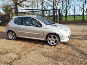 Peugeot 206 GTi 180 2004 04 reg, 43000miles only For Sale