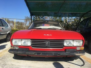 1979 504 Peugeot convertible