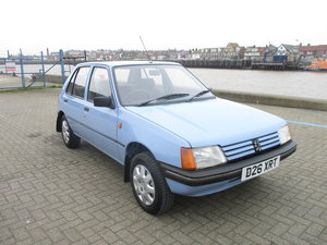 1986 PEUGEOT 205 AUTOMATIC - ONE OWNER FROM NEW  For Sale