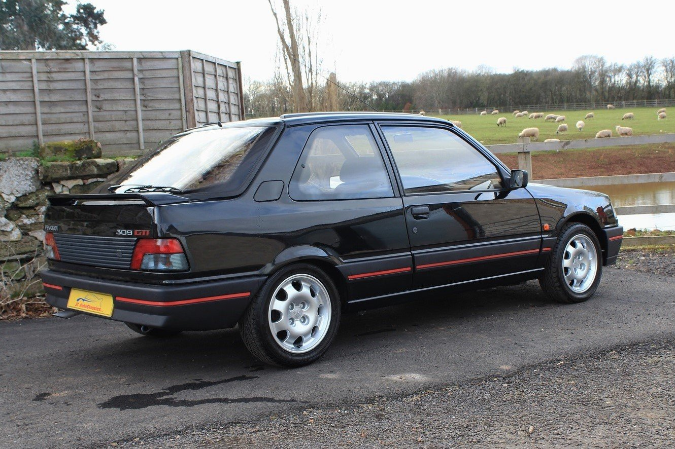 1990 Peugeot 309GTI 3dr,54,903 miles from new For Sale (picture 4 of 6)