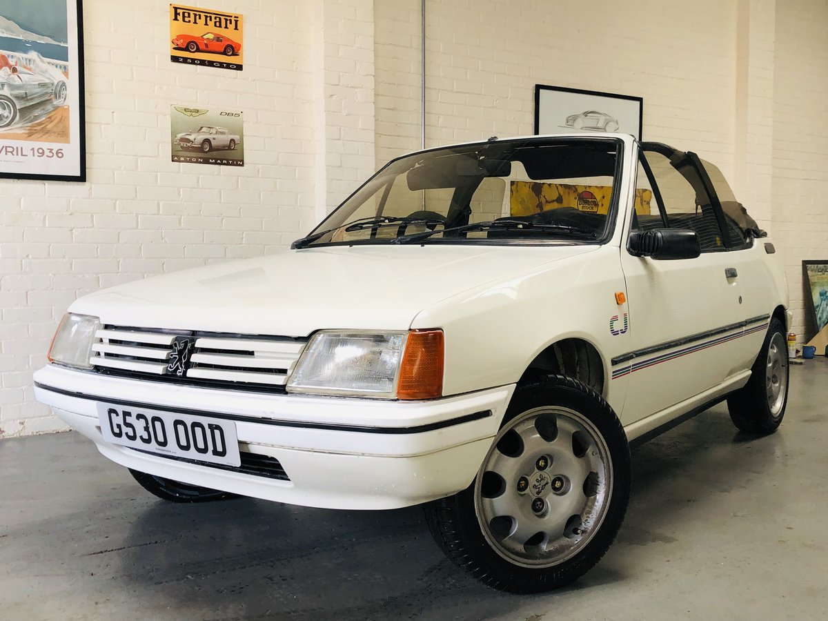 1989 peugeout 205 1.4 cj convertible SOLD (picture 1 of 6)