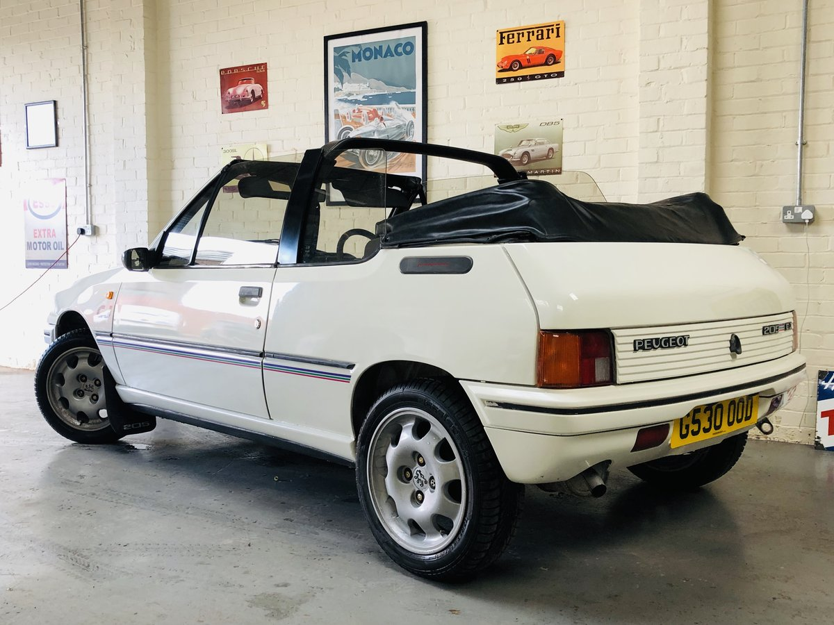1989 peugeout 205 1.4 cj convertible SOLD (picture 2 of 6)