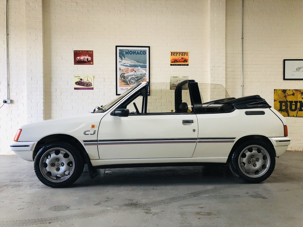 1989 peugeout 205 1.4 cj convertible SOLD (picture 3 of 6)
