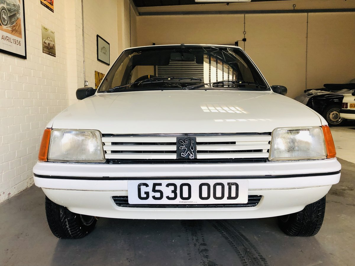 1989 peugeout 205 1.4 cj convertible SOLD (picture 4 of 6)