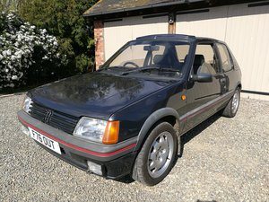 1988 Peugeot 205 1.9 GTi Sunroof Graphite Grey For Sale