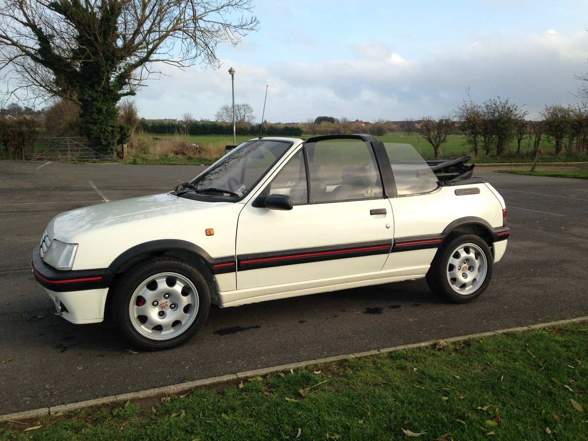 1991 Peugeot 205 1.9 GTi CTi For Sale (picture 1 of 6)