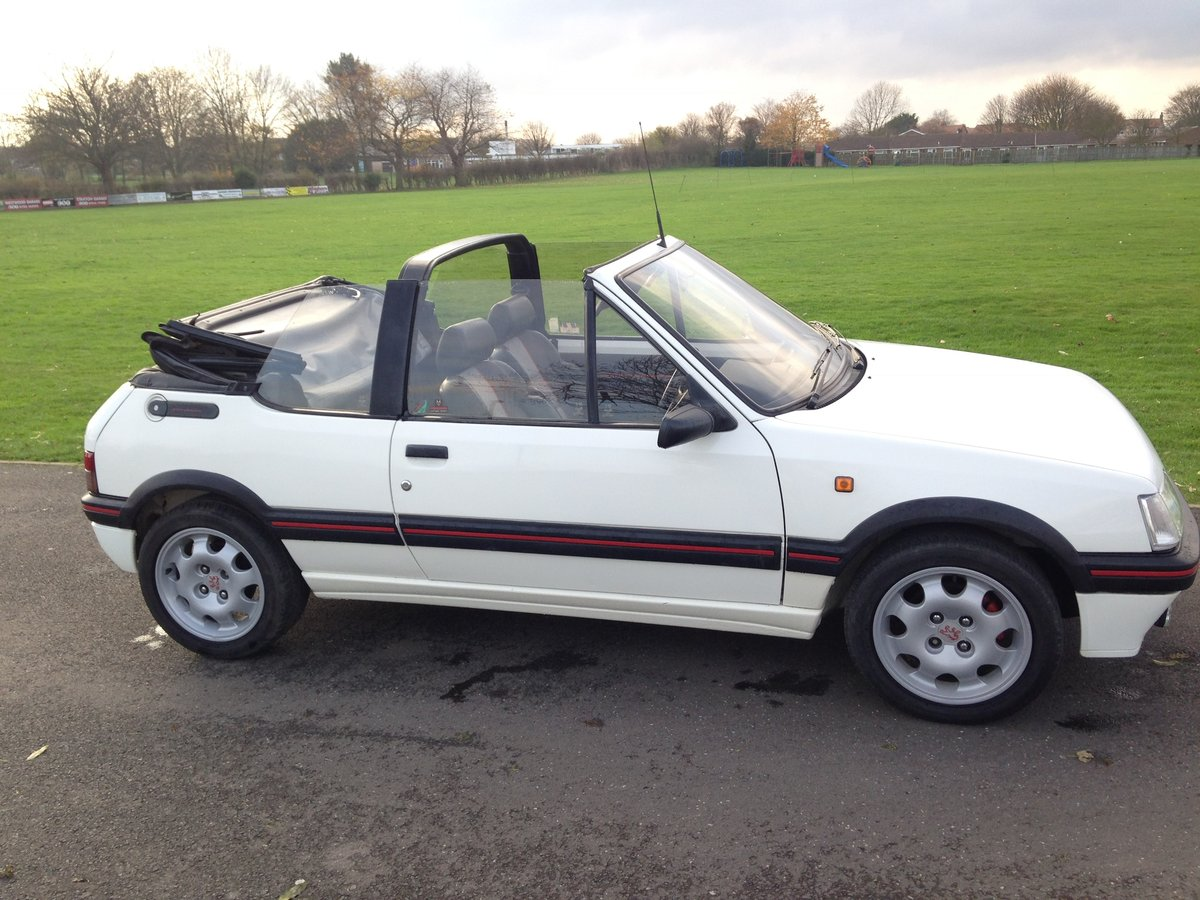 1991 Peugeot 205 1.9 GTi CTi For Sale (picture 3 of 6)