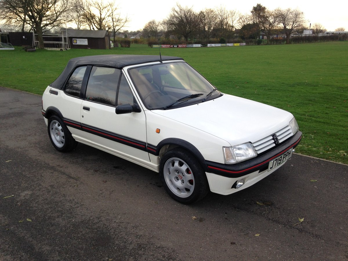 1991 Peugeot 205 1.9 GTi CTi For Sale (picture 5 of 6)