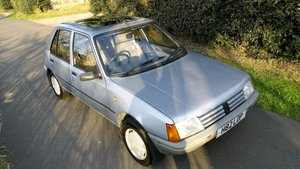 1990 Peugeot 205 1.4 GR 5DR Manual 61000 Miles H reg For Sale